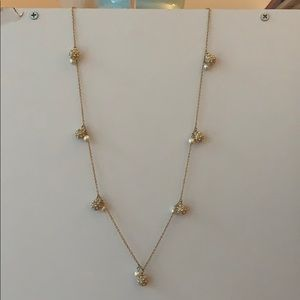 Ann Taylor Pearl Long Necklace